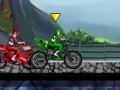 Spel Power Rangers. Power Ride online - spellen online