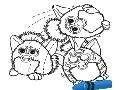 Gratis Kleurplaten Furby.Spel Kleurplaten Furby In De Krant Online Online Spel